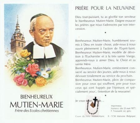 Le R.P. Mutien Marie