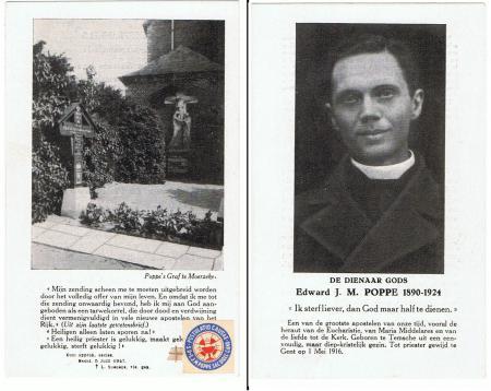 Image de prêtre J.M. Poppe