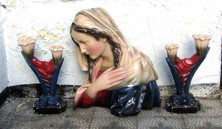 Buste de La Sainte Vierge, classique