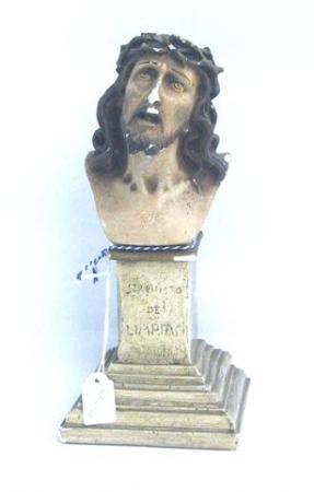 Le christ au couronne d'épines